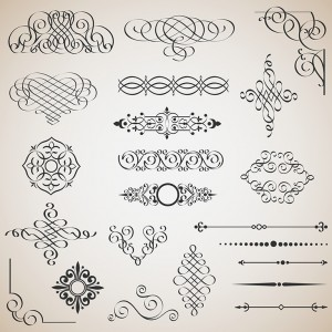 vector-set-of-calligraphic-design-elements-913-1941