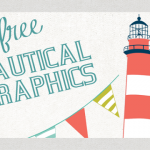 A Free Nautical Themed Graphics + Tutorial