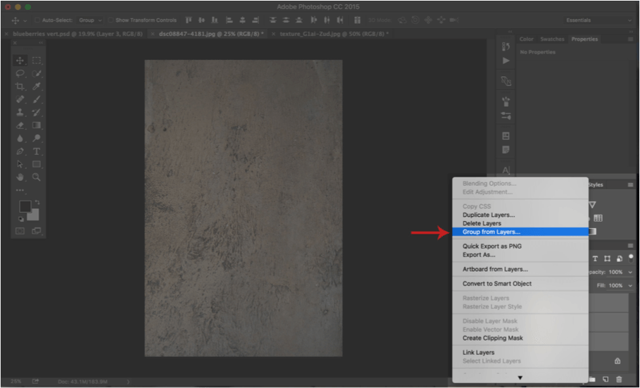 How to Add Textures in Photoshop