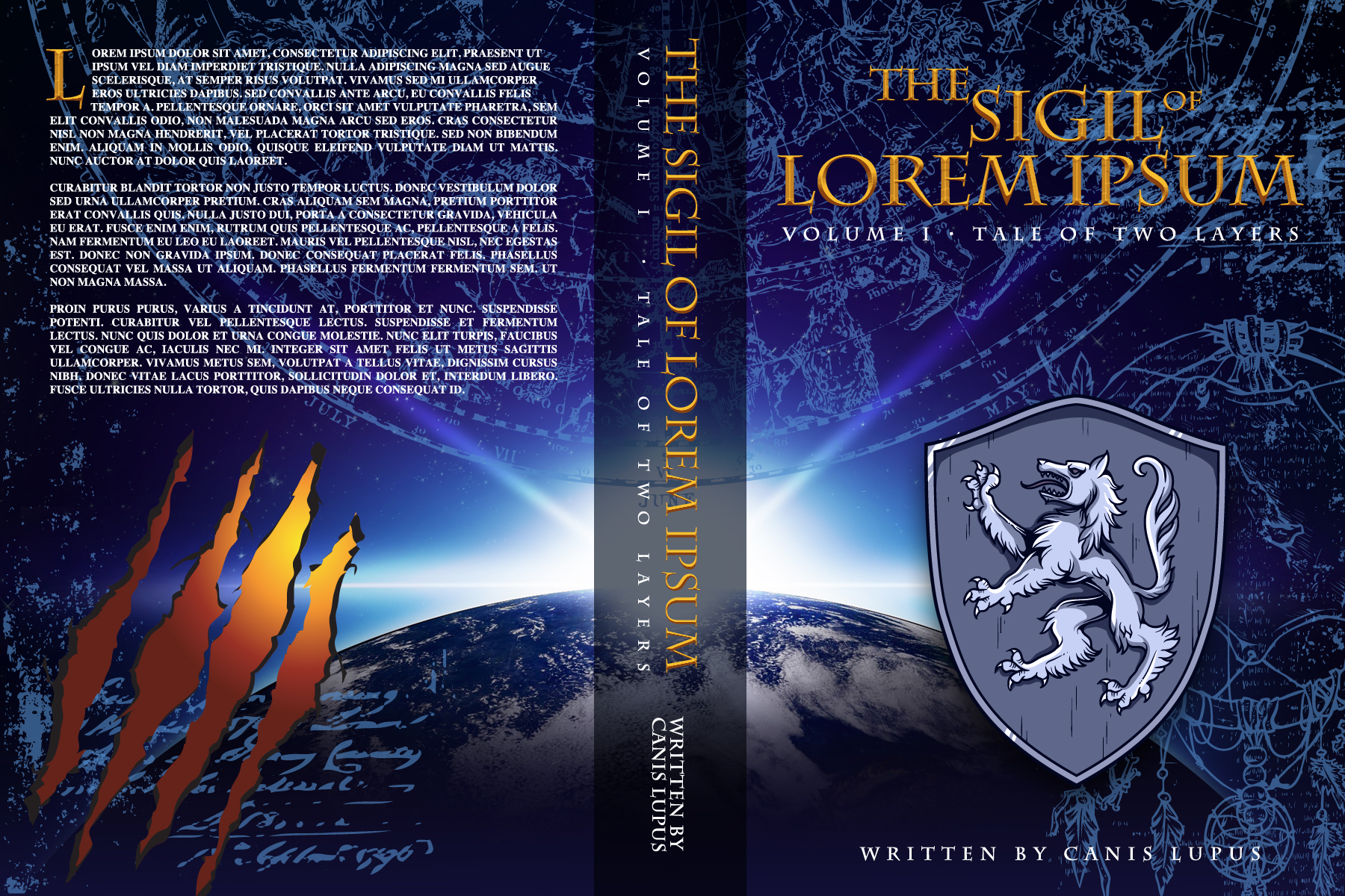Photo Fantasy Book Cover Tutorial ~ Designing an epic fantasy book cover part iii graphic