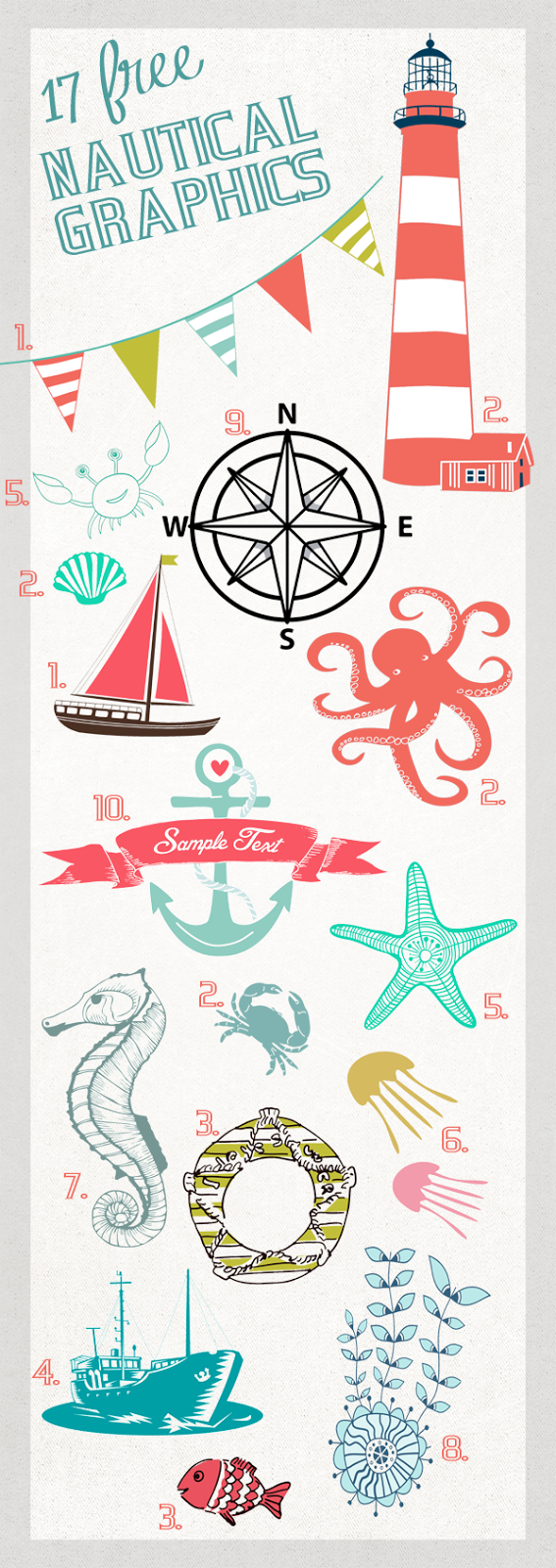 Create a Nautical Infographic