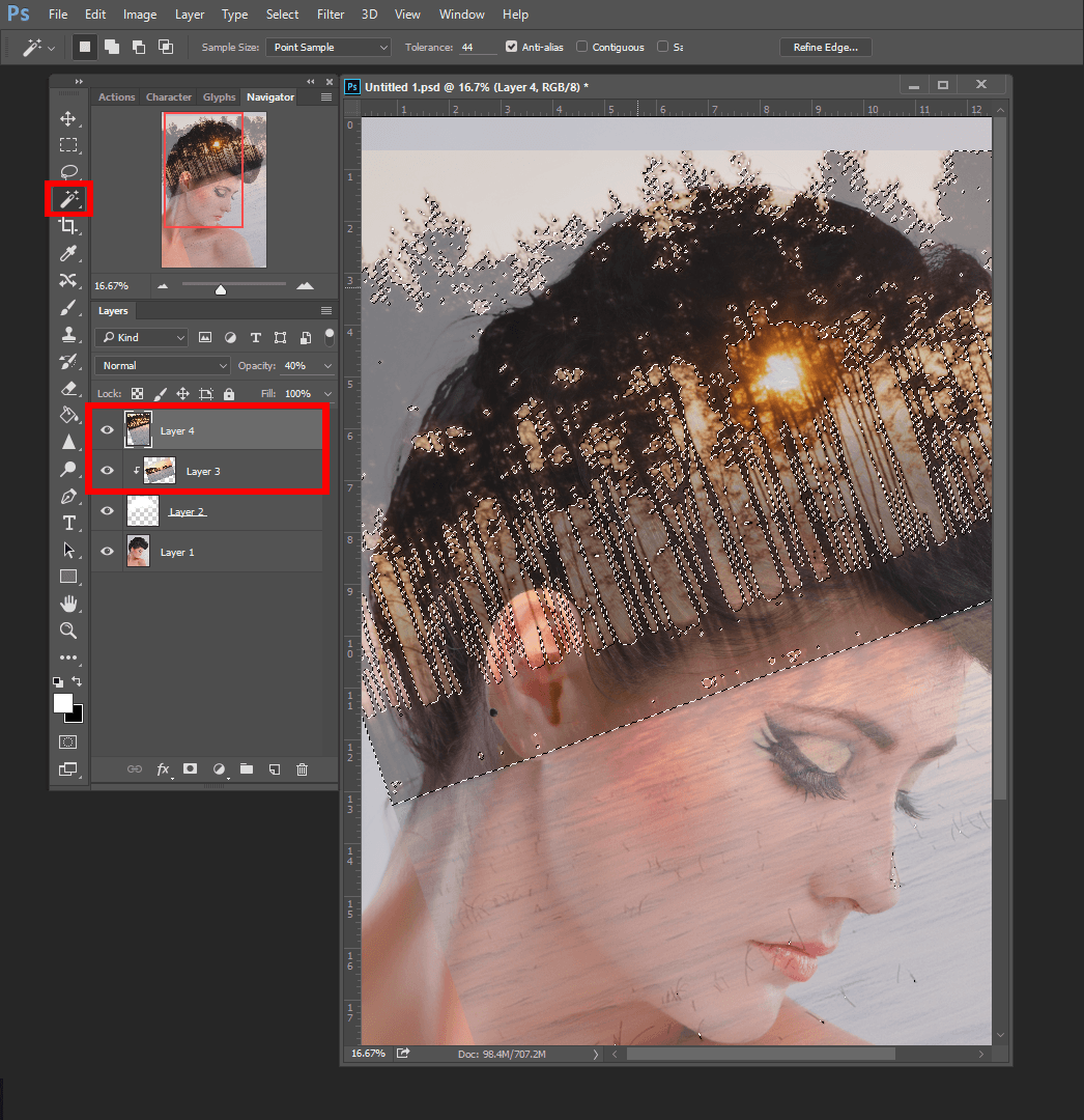Double Exposure Tutorial