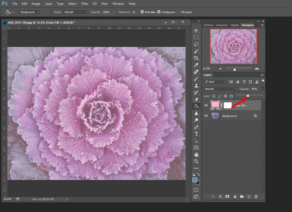 How to Adjust Solid Color in Photoshop