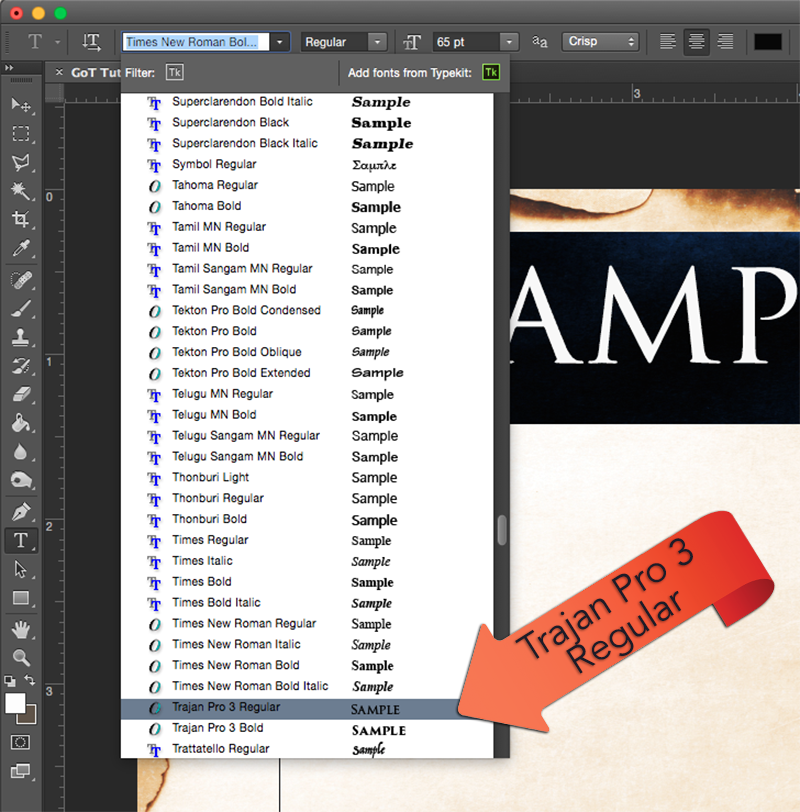 How to Create a Game of Thrones inspired Crest in Photoshop