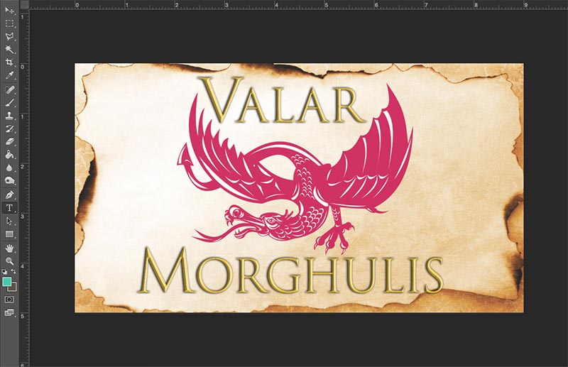 Create A Game Of Thrones Inspired Crest In Photoshop