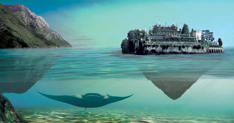 Photoshop Tutorial Create Fantasy Seascape Stock Photo Composites