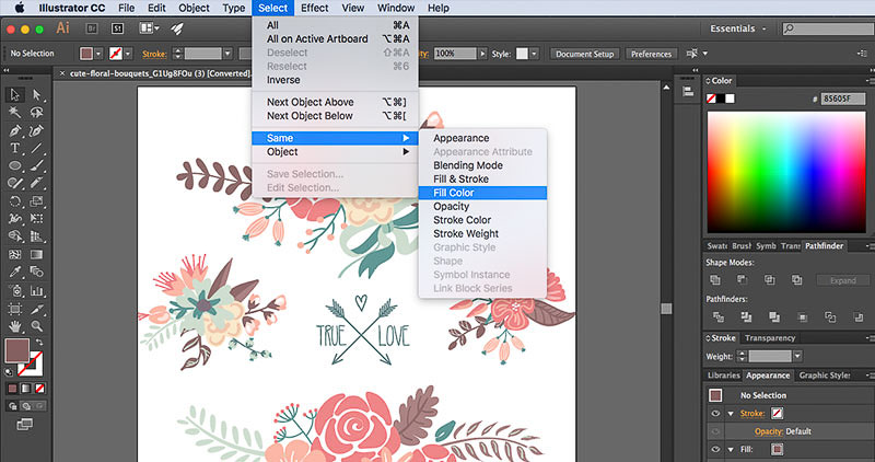How to Edit Vectors in Adobe Illustrator