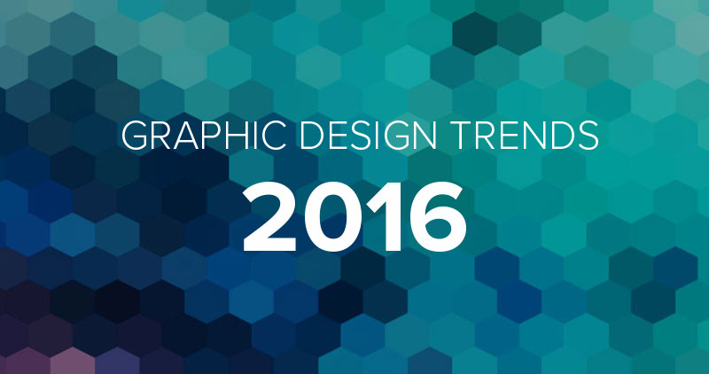 5 Hottest Graphic Design Trends of 2016 So Far