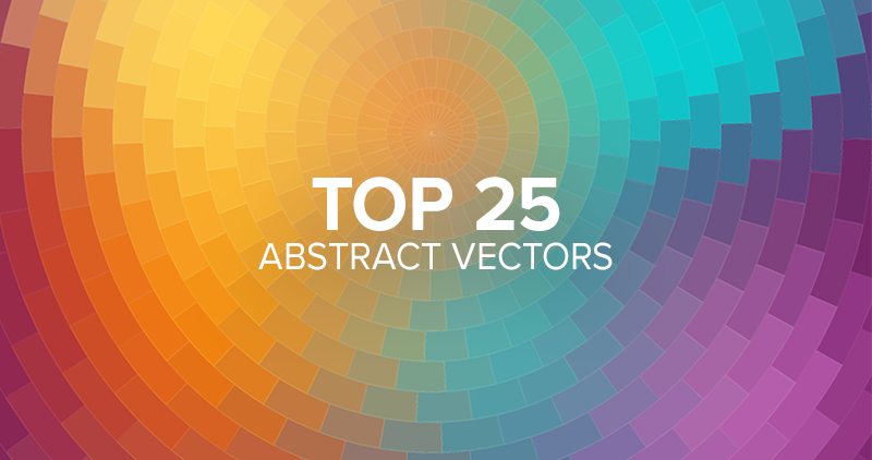 25 Abstract Vectors that Stand Out—The Most Popular Picks from Our Library