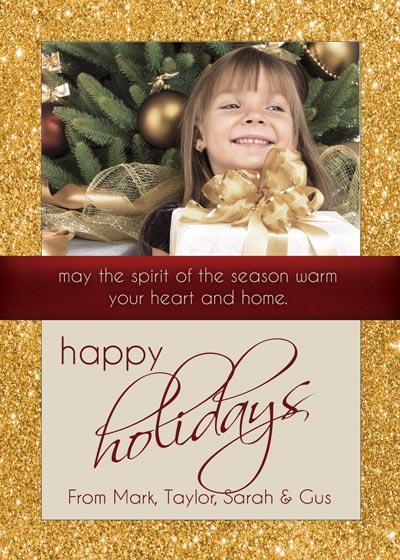 Holiday Card Photoshop Tutorial