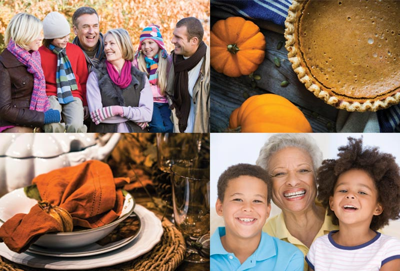 Thanksgiving Family Stock Photos
