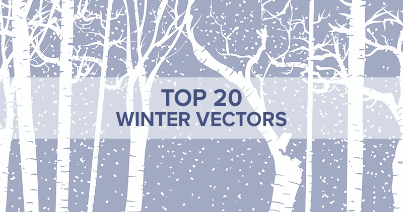 The Top 20 Nature Vectors for Winter-Inspired Designs