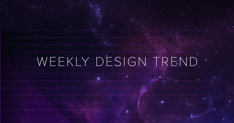 Trending This Week: Designing With Purple