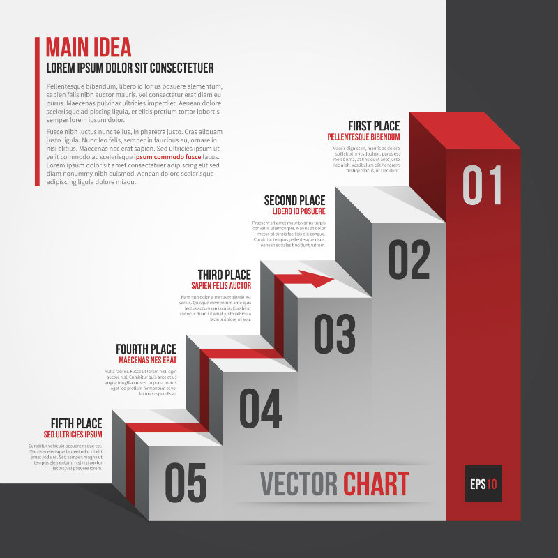 20 Awesome Vector Chart Templates for Eye-Catching Presentations