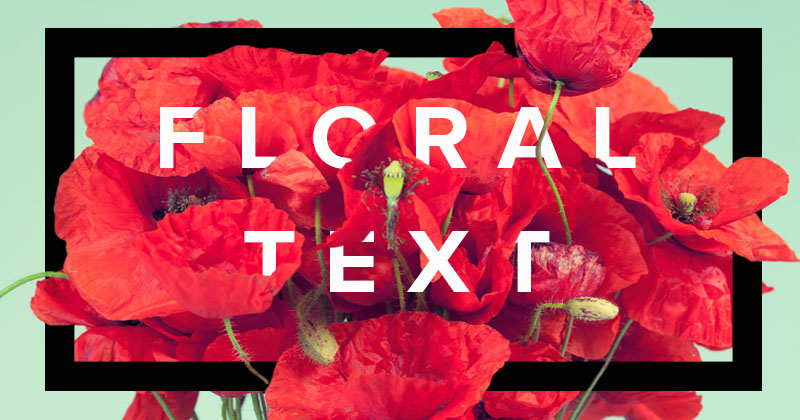 Tutorial: Create Simple, Stunning Floral Typography with Photoshop
