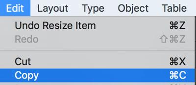 Copy-InDesign