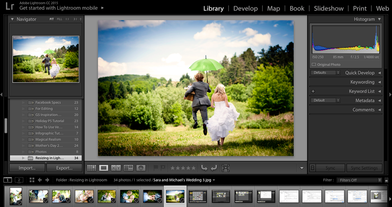 A Quick Guide to Resizing Images in Adobe Lightroom