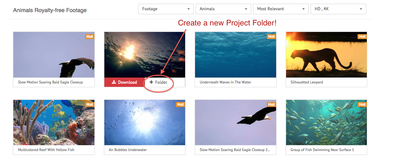 How To Create Project Folders