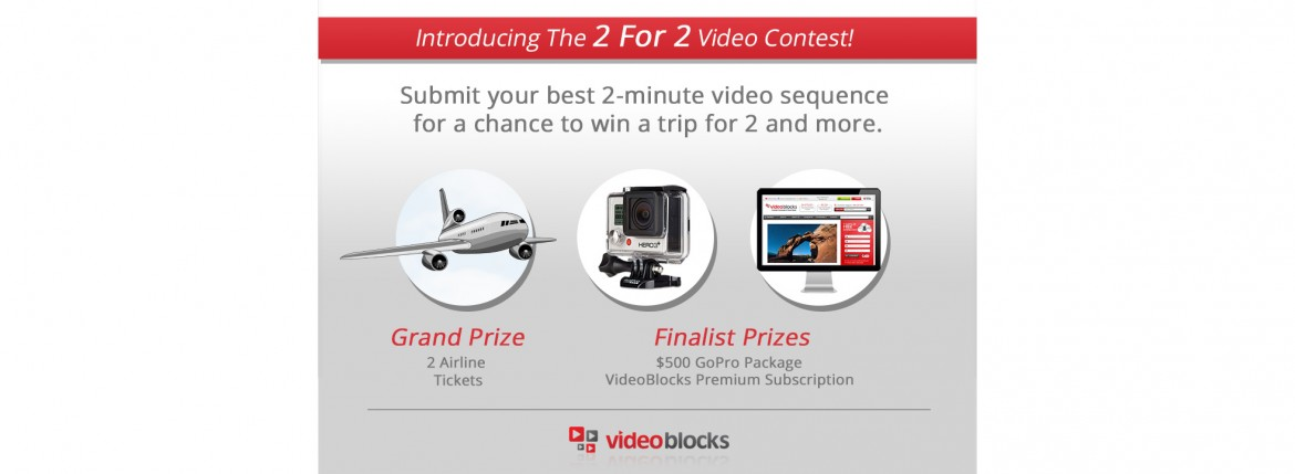 VideoBlocks 2 For 2 Contest