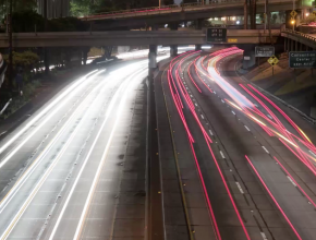 Time Lapse Traffic Rush Footage from VideoBlocks