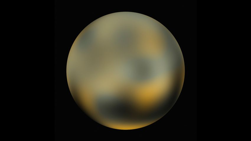 Hubble photo of Pluto