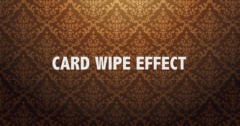 After Effects Tutorial Creating a Text Card Wipe Transition