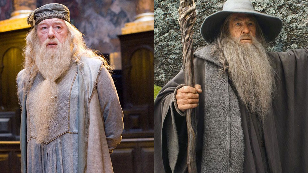 Characters in movies with wizard beards