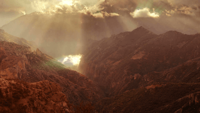 Stock footage timelapse of a beautiful mountain