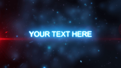 Hyperspace Star Wars After Effects Template