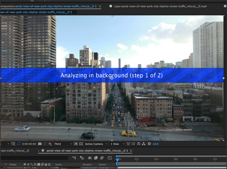 After Effects - Motion Tracking