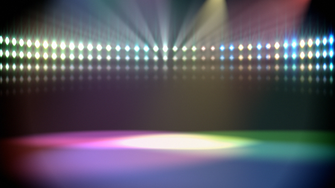 Lights at a Disco Stock Photo
