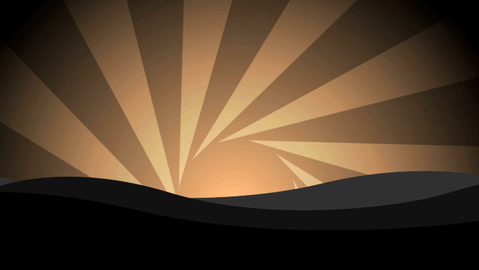Sunrise Flourishes Stock Photo