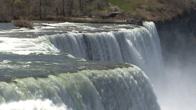 Niagara Falls from Prospect Point NY 4 Stock Photo