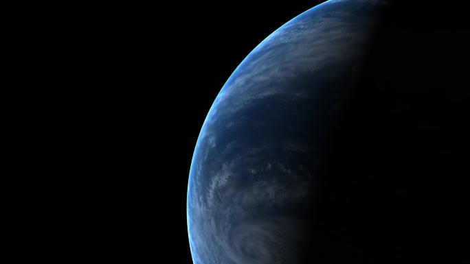 Earth's Rotation Stock Photo