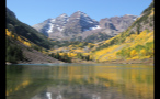 Mountain Lake in the Colorado Rockies