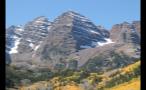 Tall Rocky Mountains Near Aspen