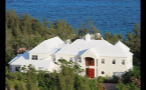Large White Oceanfront Mansion in Bermuda