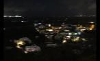 Houses at Night in Bermuda