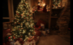 Christmas Tree Lit Up With Presents Underneath