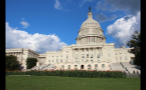 Sunny Day at US Capitol Building