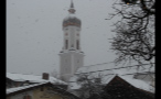 Church Steeple in German Town