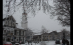German Town in the Winter