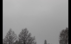 Gray Sky Over German Town