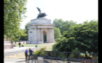 Wellington Arch in Hyde Park
