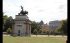 Wellington Arch in Hyde Park in London