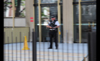 Police Man With Gun in London