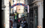 People Shopping on Carnaby Street in London