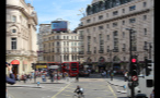 Bustling Part of London England