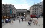 Statue of King Charles I in Trafalgar Square