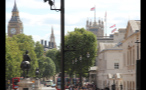 View Down London Street of Parliament